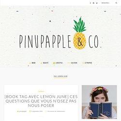 Lemon June Archives - Pinupapple & Co