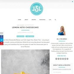 Lemon Keto Cheesecake - Cooking LSL