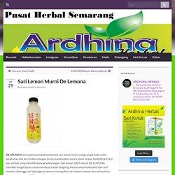 Sari Lemon Murni De Lemona – Toko Herbal Semarang