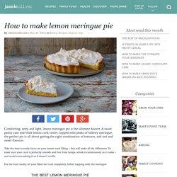 How to make lemon meringue pie - Jamie Oliver
