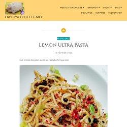 Lemon Ultra Pasta – Owi Owi Fouette-Moi