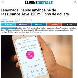 Lemonade, pépite américaine de l'assurance, lève 120 millions de dollars