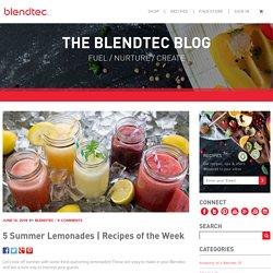 5 Summer Lemonade Recipes