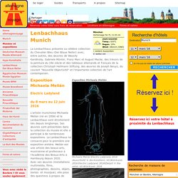 Lenbachhaus - Der blaue Reiter - Munich expositions