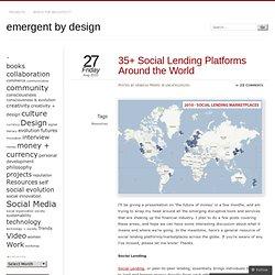 35+ Social Lending Platforms Around the World