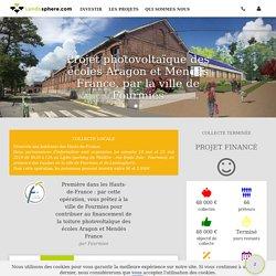 Exemple de Prêt participatif : commune de Fourmies , photovoltaique sur écoles