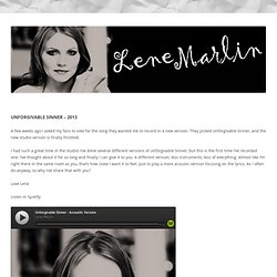 Lene Marlin - Here we are.url