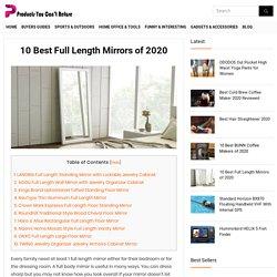 best full length mirrors of 2020