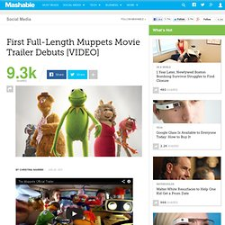 First Full-Length Muppets Movie Trailer Debuts [VIDEO]