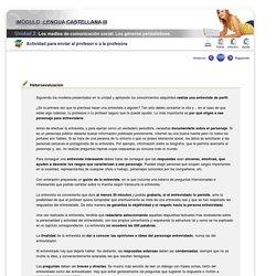 Lengua Castellana III