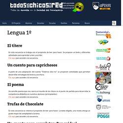 Lengua 1º Portal Educativo de la Provincia de San Luis