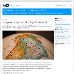 Lenguas indígenas: rico legado cultural