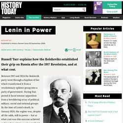 Lenin in Power