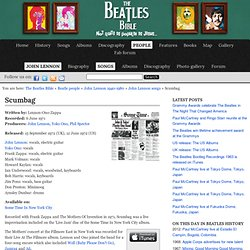 John Lennon: Scumbag