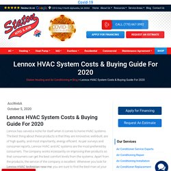 Lennox HVAC System Costs & Buying Guide For 2020
