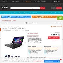 Lenovo YOGA 300-11IBY 80M0005DPB najlepsza cena Vobis.pl 80M0005DPB