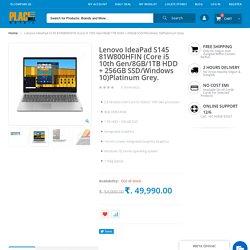 Lenovo IdeaPad S145 (Core i5 10th Gen/8GB/1TB HDD + 256GB SSD)