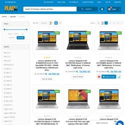 Buy Lenovo Laptop Online - Lenovo Laptop Price in India