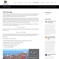 LENR Technology -