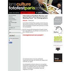 Lens Culture FotoFest Paris 2011 FR