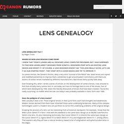 Lens Genealogy
