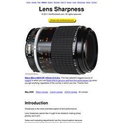 Lens Sharpness