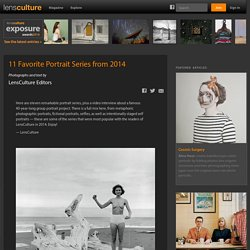 Editors - 11 Favorite Portrait Series from 2014