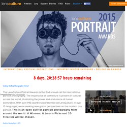 Portrait Awards 2015