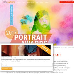 LensCulture Portrait Awards 2017
