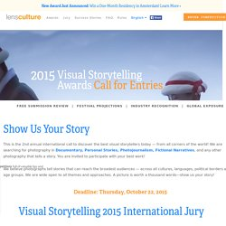 Visual Storytelling Awards 2015