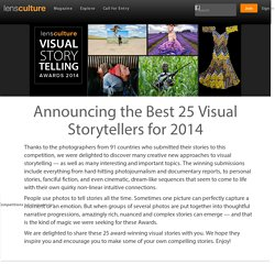 Visual Storytelling Awards 2014