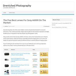 Best Lenses For Sony A6000