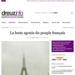 La lente agonie du peuple français