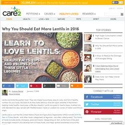 Lentil Health Benefits, Tips and Recipes