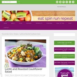 Lentil and Roasted Cauliflower Salad