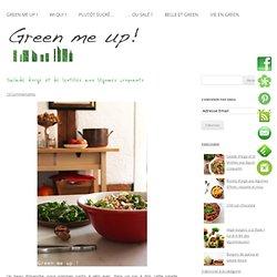 Salade d'orge et de lentilles aux légumes croquants