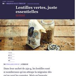 Lentilles vertes, juste essentielles - Oui ! Le magazine de la Ruche Qui Dit Oui !