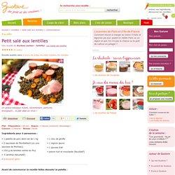 Petit salé aux lentilles, aux carottes et aux saucisses de Montbéliard ou de Morteau, la recette