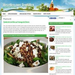 Recettes-Lentilles.fr — Plein de façons de cuisiner la lentille