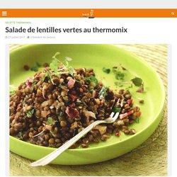 Salade de lentilles vertes au thermomix - Recette Thermomix