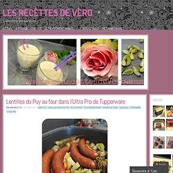 Lentilles du Puy au four dans l'Ultra Pro de Tupperware