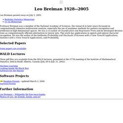 Leo Breiman