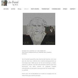 Léo Ferré by SCL - Je suis
