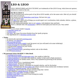 eo's LEGO Designs