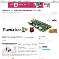LeoCAD : des modèles LEGO en 3D sur Raspberry Pi