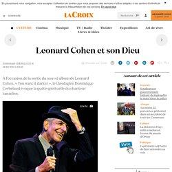 Leonard Cohen et son Dieu - La Croix
