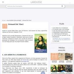 Léonard de Vinci - Larousse