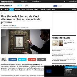 Une étude de Léonard de Vinci découverte chez un médecin de province