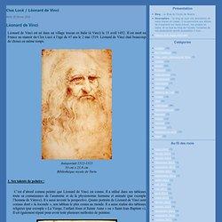 Clos Lucé / Léonard de Vinci - Léonard de Vinci - La mystérieuse… - Cela s'est passé un… - Une petite aide… - La Joconde - Le Blog de l'école de Noailly
