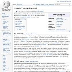 Leonard Percival Howell